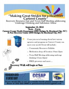 Flyer for Recovery Resource Fair 2016-page-001